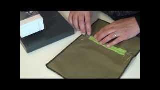 tutorial 7: gepaspoilleerde zak maken