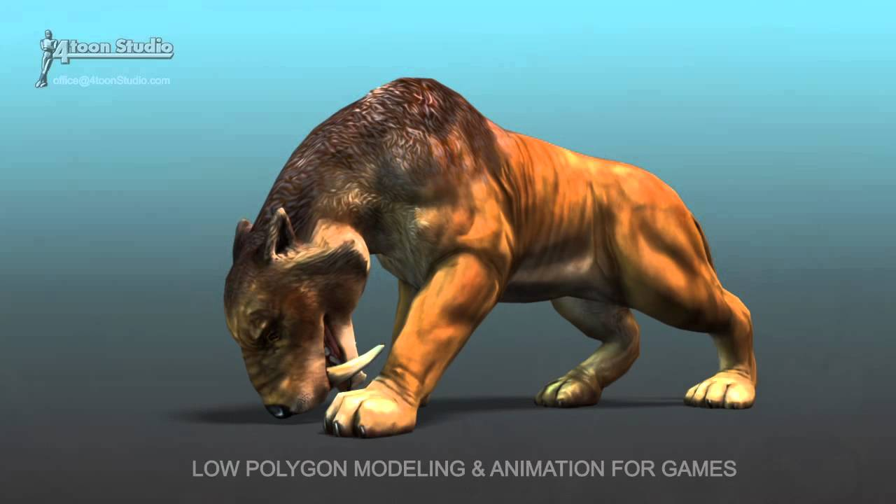 cartoon animal saber tooth youtube