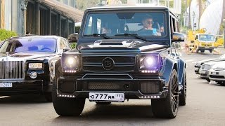 Brabus 700 G63 Sound - The Most Badass 4X4 EVER?