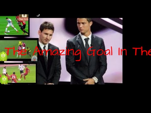 The Amazing Goal In The World By lionel  Messi And  Cristiano Ronaldo