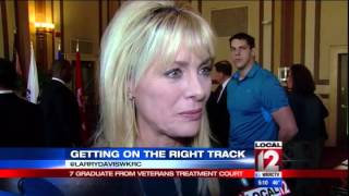 Seven graduate from Veterans Treatment Court