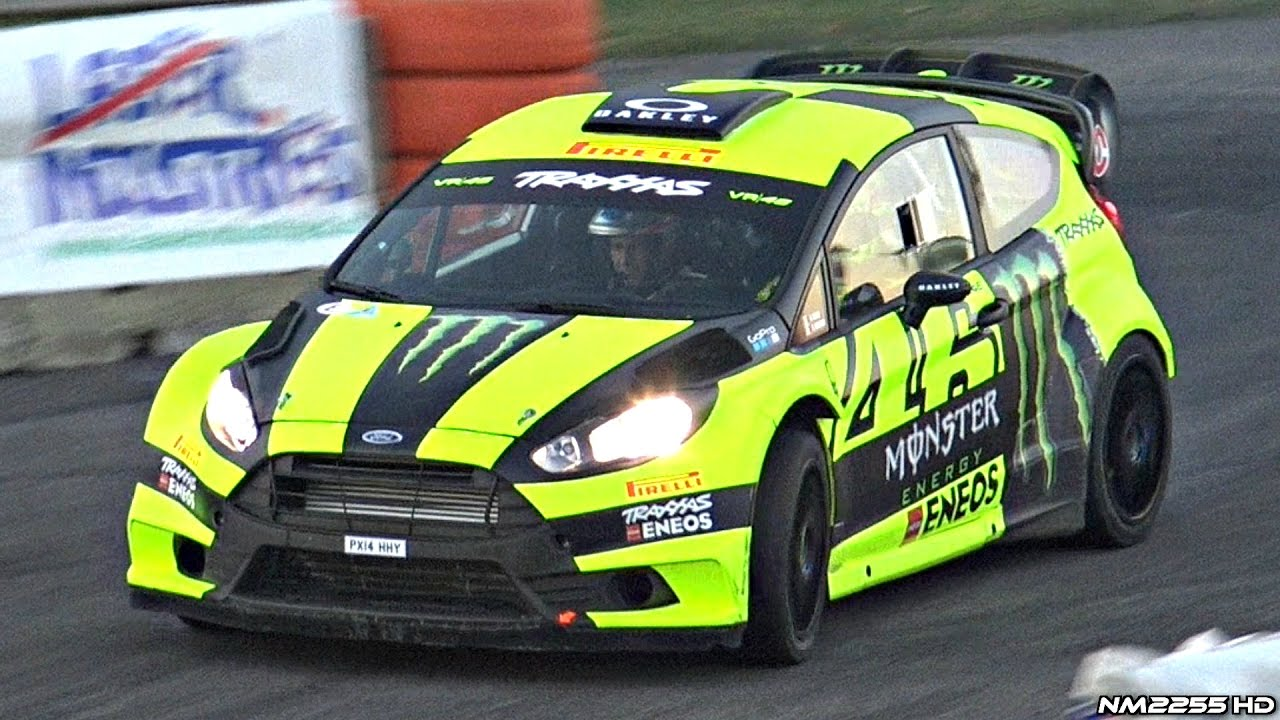 Valentino Rossi @ Monza Rally Show 2016 - Ford Fiesta WRC Test Day! - YouTube