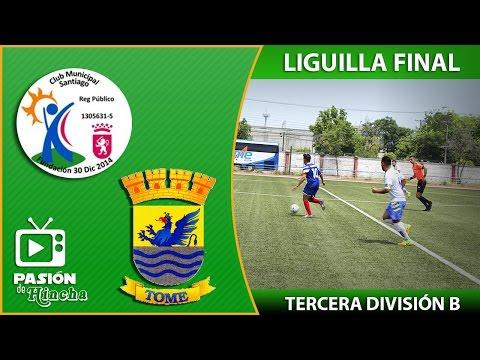 Tercera B 2016 | Liguilla Final : Municipal Santiago 3 - 2 Deportes Tomé