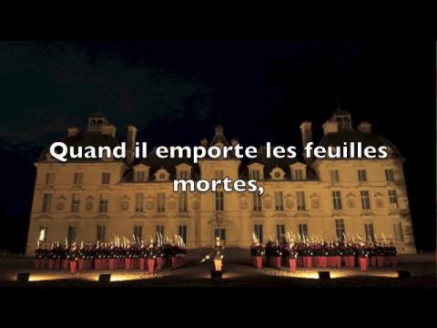 Choeur de Saint-Cyr: Vent d'Automne (Paroles)