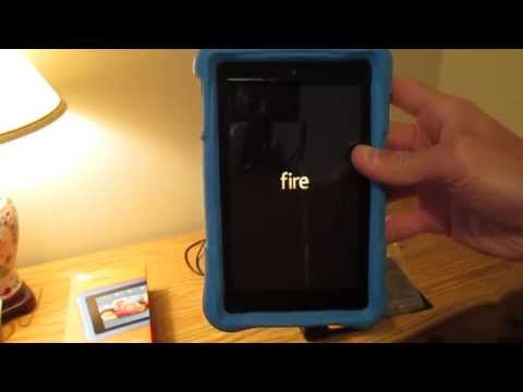 Amazon Kindle Fire HD 6 Kids Edition Unboxing