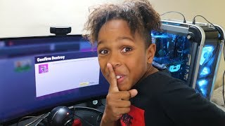 SNEAKING INTO MY BIG BROTHERS BEDROOM! *He Didn