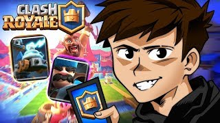 WENT into the NEW ARENA of the CHALLENGE in CLASH ROYALE! ‹ Nsis ›