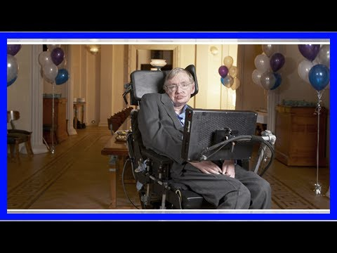 Stephen hawking shares some interesting advice about depression