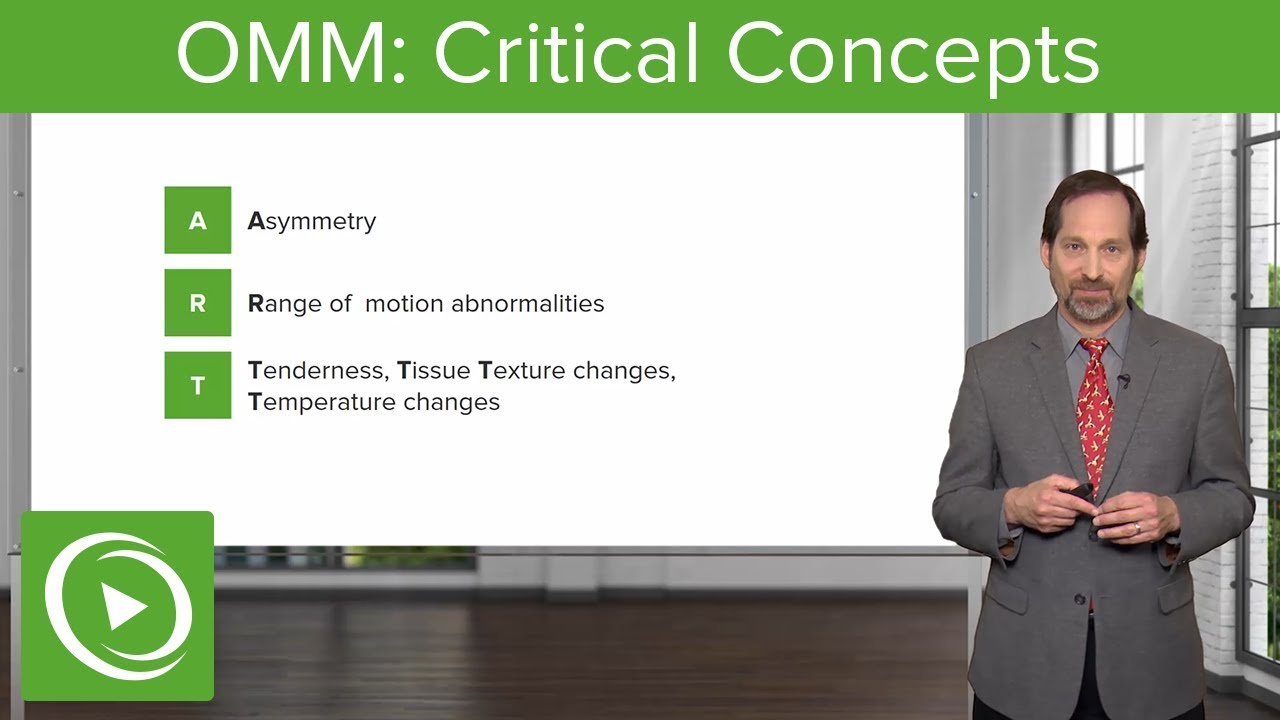Critical Concepts – Osteopathic Manipulative Medicine (OMM)   Lecturio