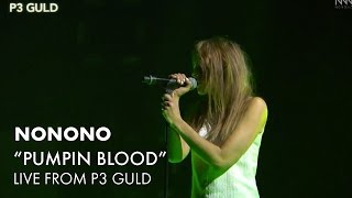 NONONO - Pumpin Blood (Live at P3 Guld Sweden 2014)