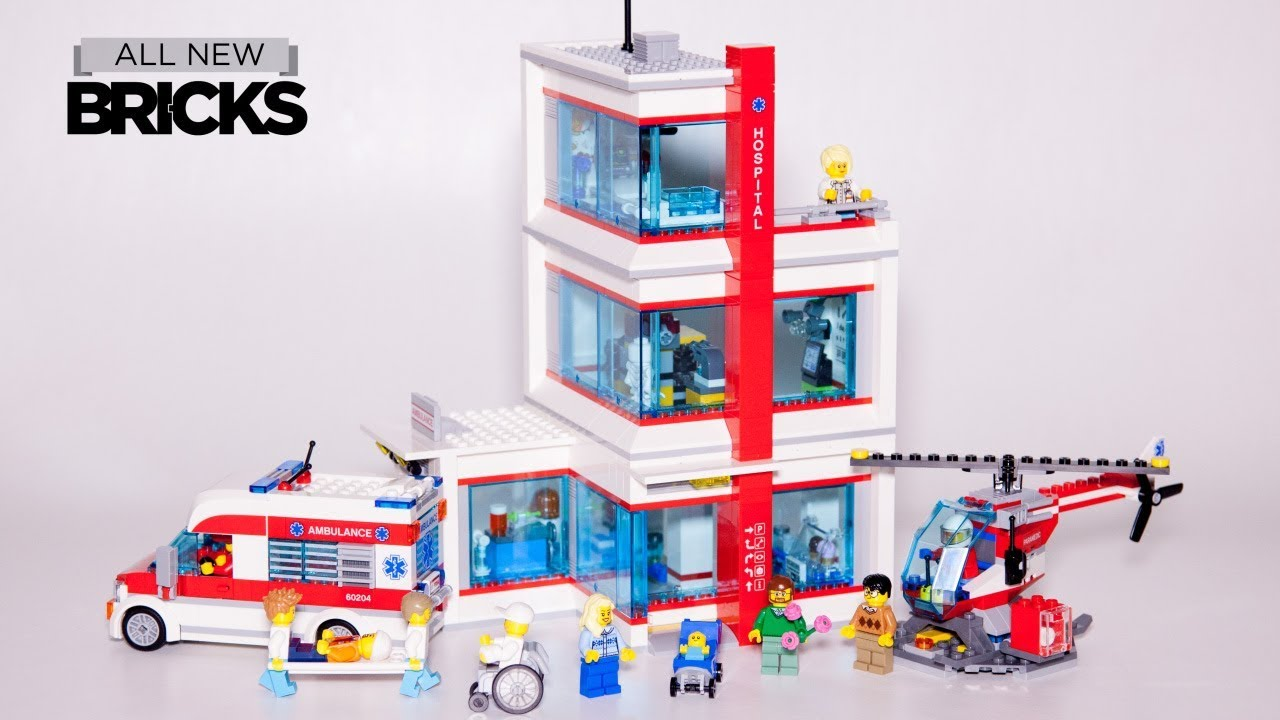 Lego City 60204 Lego City Hospital Speed Build Youtube