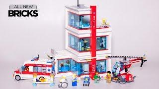 Lego City 60204 Lego City Hospital Speed Build