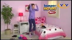 Баскетболен кош за мръсни дрехи за пране Hamper Hoops - yay.bg