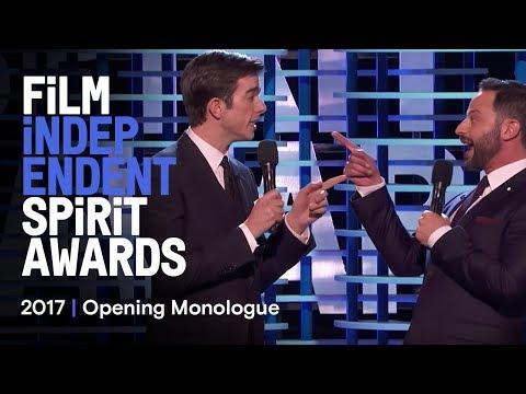 Nick Kroll & John Mulaney's  Monologue at the 2017 Film Independent Spirit Awards