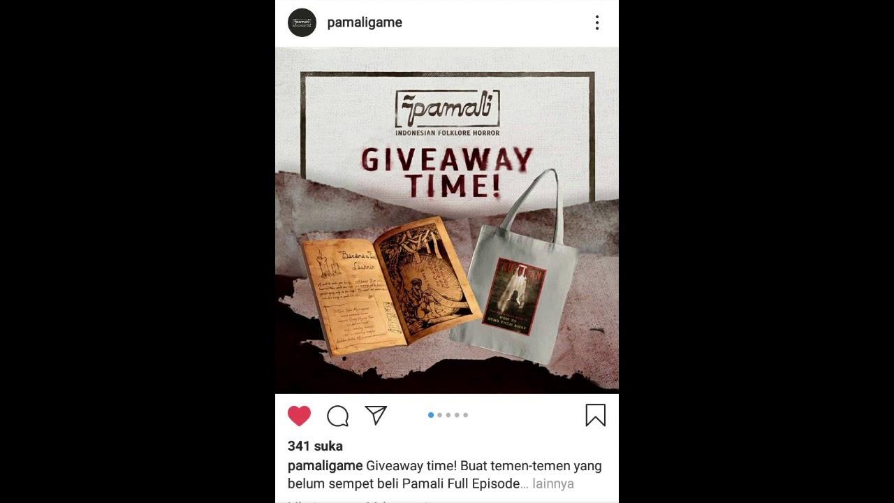 Game GRATIS | Pamali Giveaway