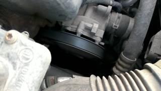 Шум двигателя 1.6 Опеля астры , при нажатии на педаль газа