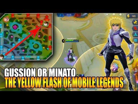 Cara Menggunakan Hiraishin no Jutsu   Teleportasi Gussion - Mobile Legends Bang Bang