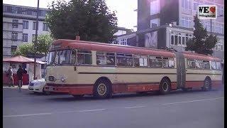 Henschel Gelenkbus in Recklinghausen / Historic articulated bus / 歴史的なバス [HD 720p]