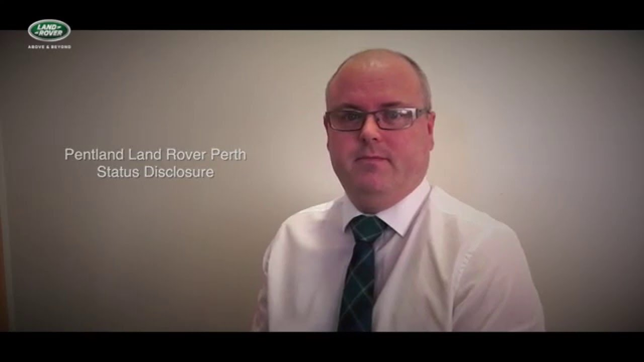 pentland land rover perth status disclosure youtube. Black Bedroom Furniture Sets. Home Design Ideas