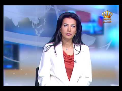 English News at Ten on Jordan Television 11-04-2017
