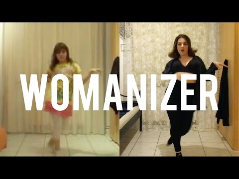 NOW Vs. THEN - Laura Dancing To Womanizer By Britney Spears