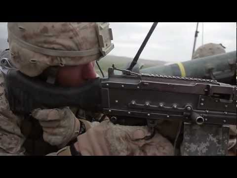 Marines Open Fire On Taliban Position With Javelin Missile And Machine Gun - Operation Bullseye