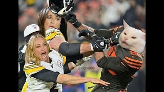 2019 NFL Week 11 TNF Game Highlight Commentary (Browns vs Steelers)