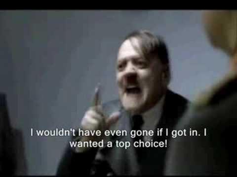Hitler gets rejected from college