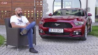 Gentlemans Car - Alex Dona și Ford Mustang