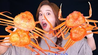 [Mukbang] Most Delicious Red Snow Crab🦀홍게 10마리 먹방 Eatingsound 帝王蟹 ンクレプ Ssoyoung
