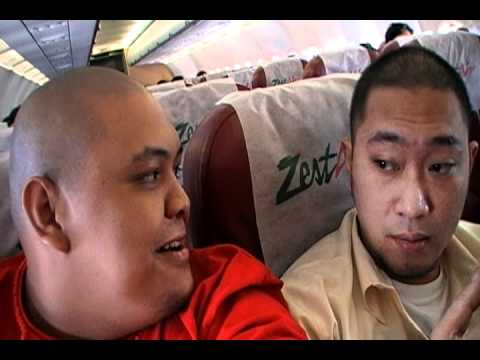 MINDANAO TOUR part 1 - PLANE TRIP with DON G & TINY MONTANA