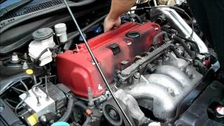 How To Remove Cam Cover Honda Civic Type R EP3