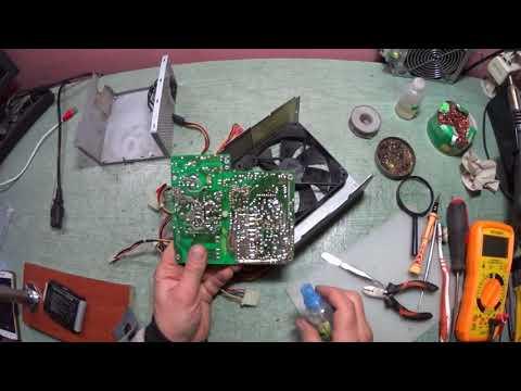 Банальный ремонт БП ATX 400 FSP