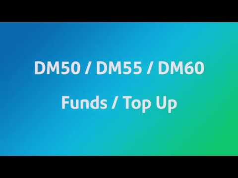 How To Top Up Funds On A DM50-DM60 (UK)