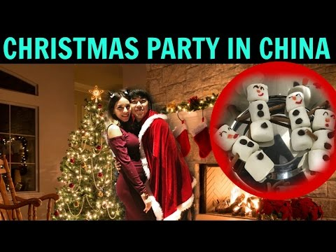 CHRISTMAS PARTY IN CHINA | ESPAÑOL CC
