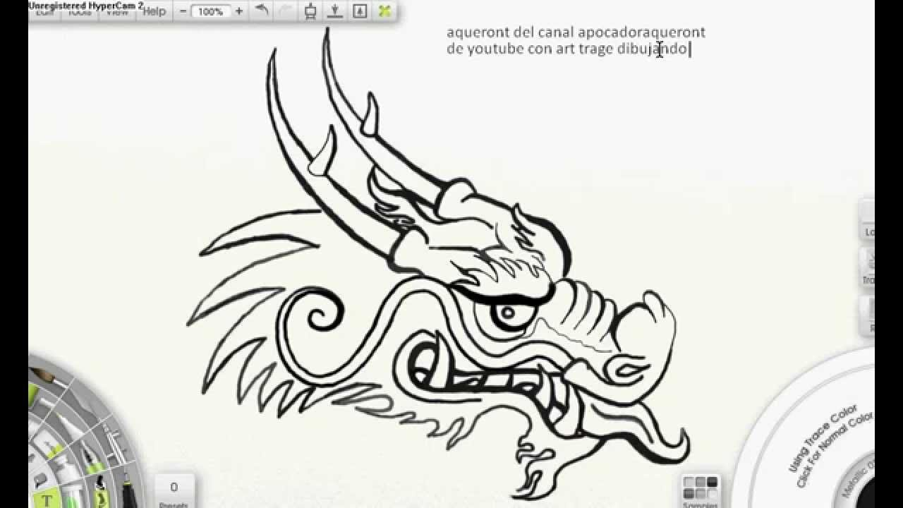 Dibuijando dragon chino Draw Asian Dragon  YouTube