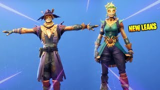 Fortnite Scarecrow Skins & T Pose Emote..!