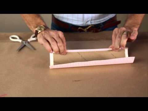 DIY Napkin Ring Organizer