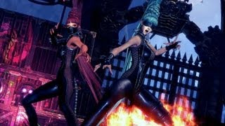 Blade & Soul Online Sexy Twins in Leather Bloody Shark Harbor Raid 3rd Boss Destroyer Gameplay