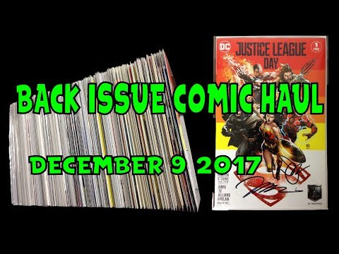 Back Issue Comic Haul December 9 2017