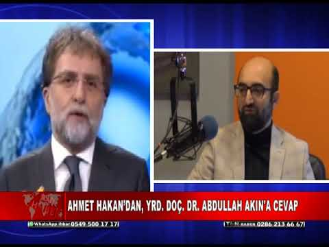 AHMET HAKAN'DAN, ABDULLAH AKIN'A CEVAP