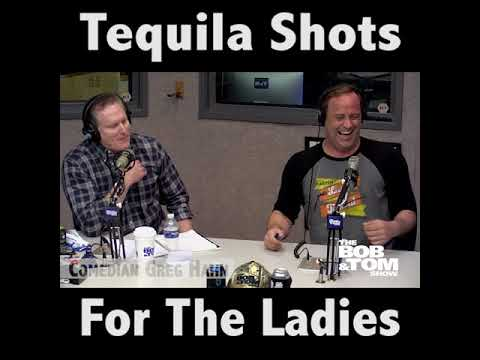 Greg Hahn Buys Tequila Shots For The Ladies