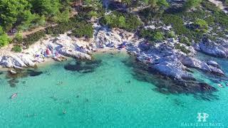 Kavourotripes (aka Portokali) Beach in Halkidiki