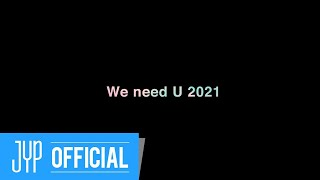 "NiziU ""We need U 2021"""