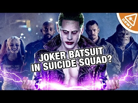 Will Joker Don the Batsuit in Suicide Squad? (Nerdist News w/ Kyle Hill)