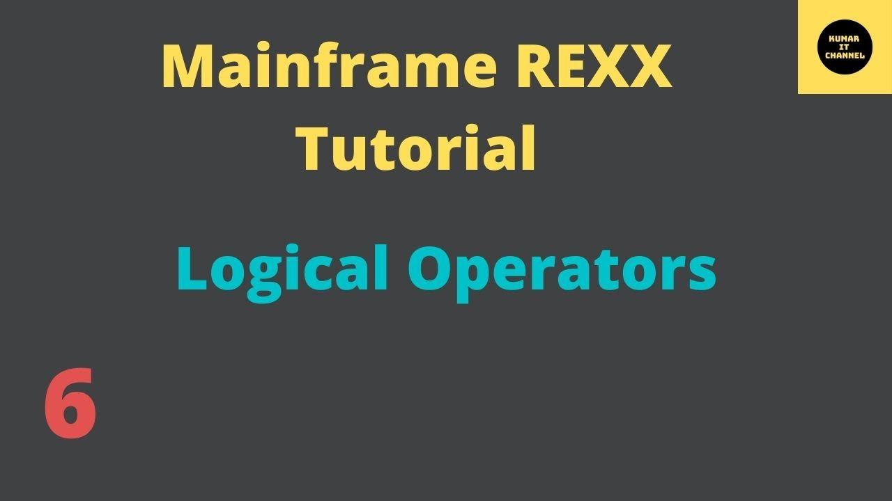 Mainframe tutorial rexx 2 youtube.