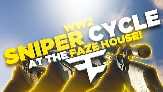 WW2 SNIPER CYCLE AT THE FAZE HOUSE