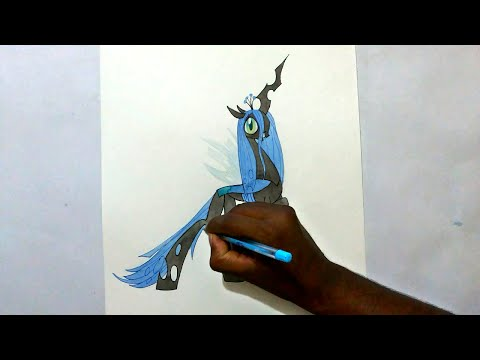 Thumbnail: how to draw my little pony Queen Chrysalis