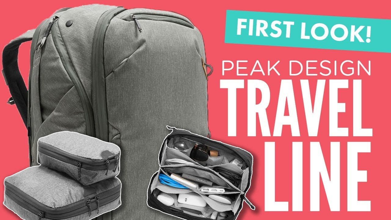0acafc44e4 Review  Peak Design Travel Backpack and Packing Tools - YouTube