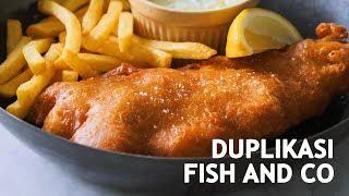 RESEP FISH AND CHIPS - NGALAHIN ENAKNYA FISH AND CO?!